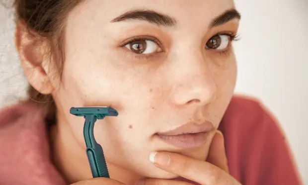Female shaving: why women are removing their facial hair