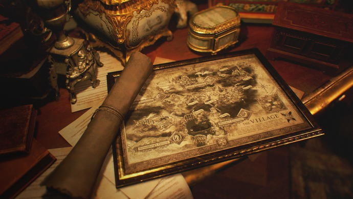 Here's a look at Resident Evil Village's sprawling map